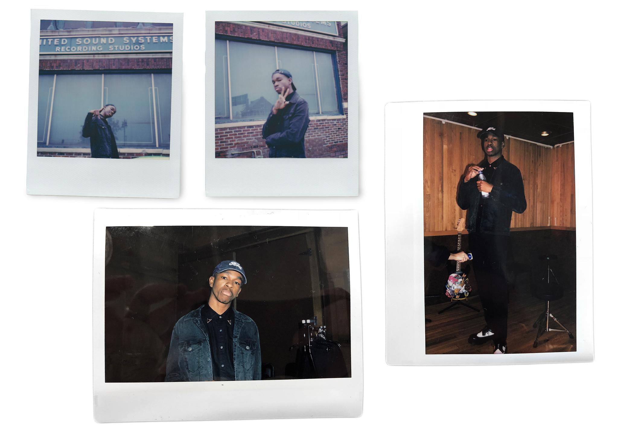 polaroids of Sam Austins