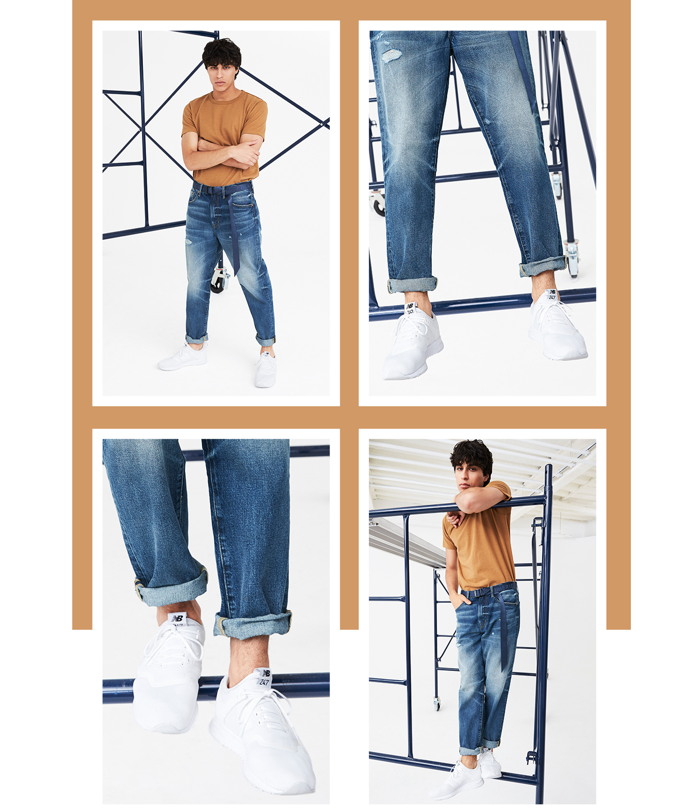 RELAXED TAPER JEAN