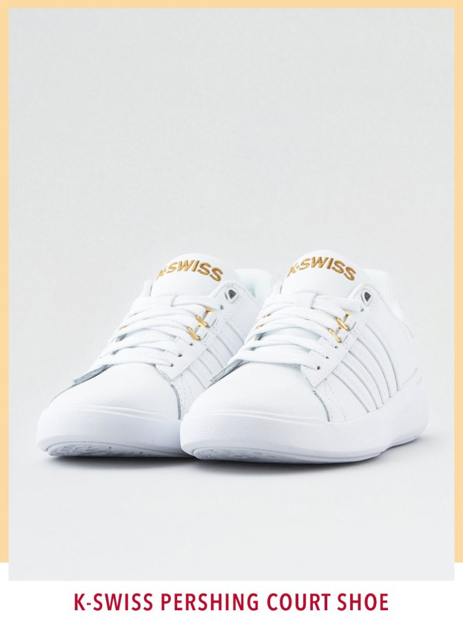 K-SWISS PERSHING COURT SHOE