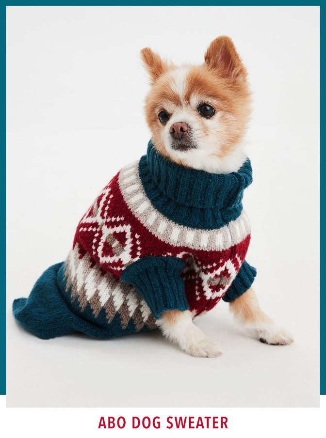 ABO DOG SWEATER