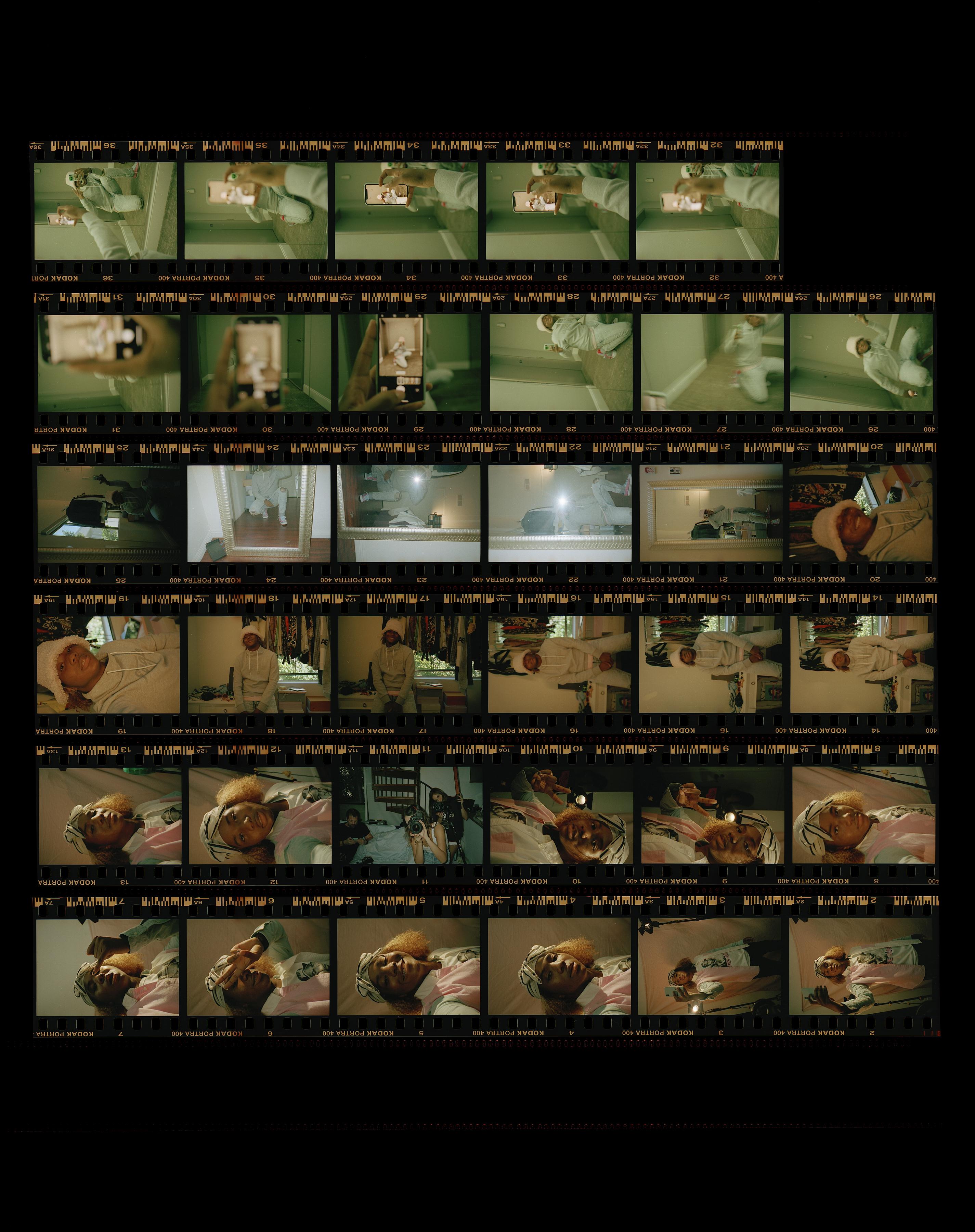 film strips of Deaunte