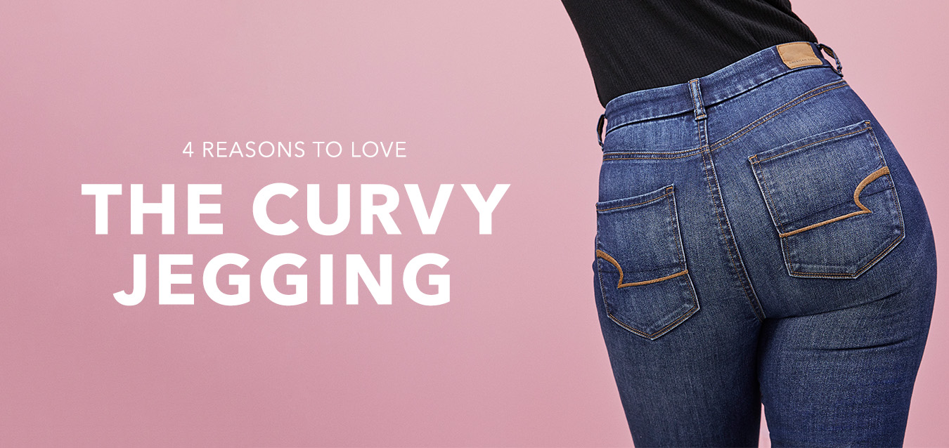 4 Reasons to love the Curvy Jegging