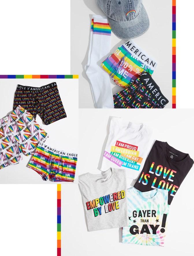 AE pride collection accessories