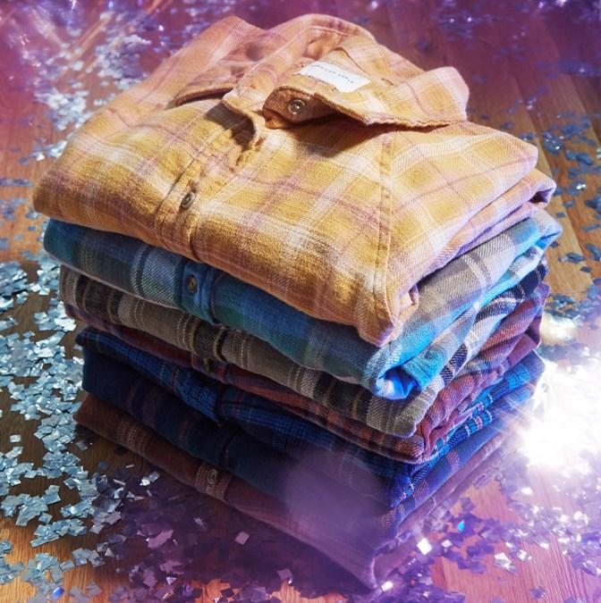 AE Plaid & Flannel Shirts
