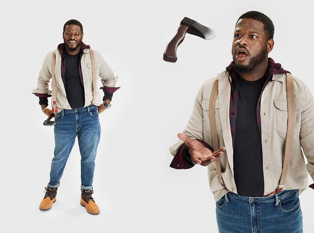 AE Halloween Idea: Hip Lumberjack